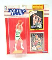 RARE NEW NOS Larry Bird Boston Celtics Starting Lineup Action Figure Kenner 1990