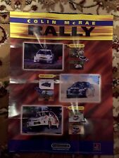 Colin Mcrae Rally Poster (came With Original Game) PlayStation 1