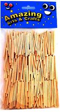 Amazing Arts and Crafts Matchsticks, Natural 500pcs