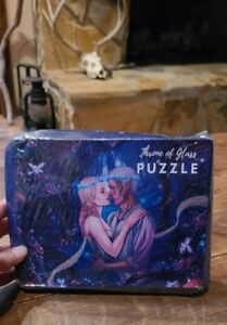 NEW Bookish Book Box Aelin And Rowan Throne Of Glass Puzzle