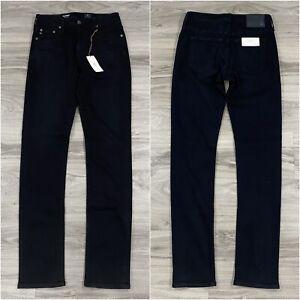 AG Adriano Goldschmied The Everett Slim Straight Pants Black Men's Size 30 X 34