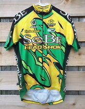 CANONDALE SOBE MTB Mountain Bike Team Cycling Jersey Yellow/Green Men's Med. (4)