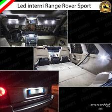 LED INTERNI ABITACOLO RANGE ROVER SPORT L320 COMPLETO + LUCI TARGA 6000K CANBUS
