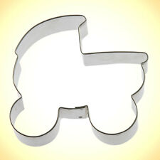 Baby Carriage Cookie Cutter 4 in B1371 - Foose Cookie Cutters - USA Tin