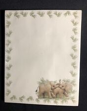 New & Sealed Ruth J. Morehead 1999 Elephant Magnetic Note Pad 80 Sheets #19034