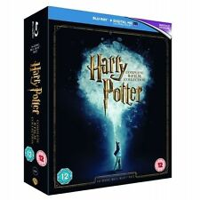 Harry Potter Complete 8 Film Collection Blu Ray BOXSET 16 Disc Region