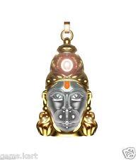 Shri Panchmukhi Hanuman Chalisa Yantra Pendant / Kavach with Gold Plated Chain