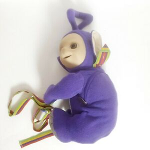 Teletubbies Tinky Winky Back Pack Bag Golden Bear Vintage 90s
