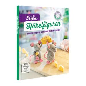 Süße Häkelfiguren Kuschelweiche Lieblinge im Miniformat BUCH mit Häkelschule DVD