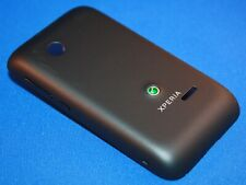 Sony XPERIA Tipo ST21i Battery Cover Keypad Back Cover Shell Original New Black