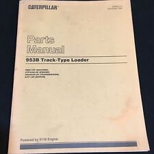 Caterpillar 953B Track-Type Loader Parts Manual for Serial Numbers 5MK1-Up