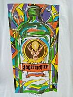 Vintage 1999 JAGERMEISTER by G. Kalehen (XL) T-Shirt Picasso Inspired