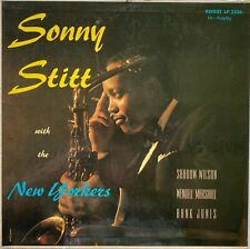 SONNY STITT WITH THE NEW YORKERS ROOST RECORDS NO. 2226 Very Clean LP/Cover