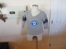 Sport Tek T Shirt Ladies M  short sleeve half mid drift Miller Lite Beer 1975