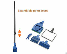 EXTENDABLE Aquarium Fish Tank 5 In 1 Cleaning Tools Set Planted Tank Gravel Net