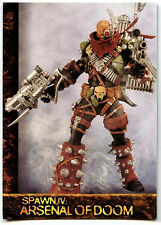 Spawn The Toy Files #76 Spawn IV : Arsenal Of Doom Trade Card (C331)