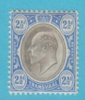 TRANSVAAL 255 MINT HINGED OG * NO FAULTS EXTRA FINE !