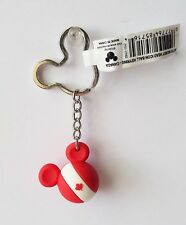 Disney - Mickey Mouse Head Icon Ball - Canada - Country Keychain/Keyring 85716