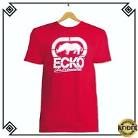 NWT ECKO UNLTD.CREW NECK SHORT SLEEVE LOGO GRAPHIC RED T-SHIRT SIZE L