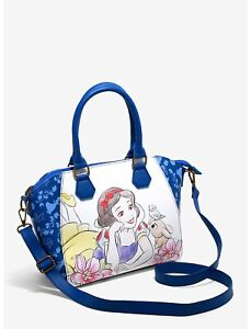 Loungefly Disney Snow White And The Seven Dwarfs Sketch Satchel Bag
