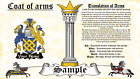Luense-Macklun COAT OF ARMS HERALDRY BLAZONRY PRINT