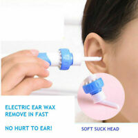 Safety Electric Cordless Vacuum Ear Cleaner Wax Remover Painless Cleaning Tool J