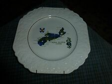 """Vintage NOVA SCOTIA, CA. / LORD NELSON POTTERY Wall Hanging Plate 8.5"""" VG"""