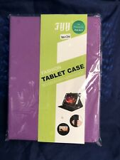 FYY iPad Air 2 Premium PU Leather PURPLE Smart Fashion Tablet Case Cover NIP