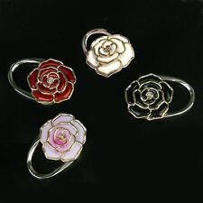 Rose Blumen Taschenhalter Handtaschenhalter Handtasche Taschenhaken Farbwahl ~