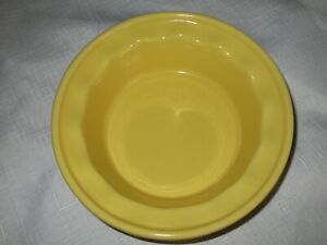 "CHANTAL 5"" Mini Easy As Pie Dish Yellow Stoneware Pie Plate Pan Baker 93-PDE13"