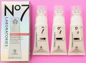 Boots No7 Laboratories Firming Booster Serum 30ml Clinically Proven 3 x 30ml