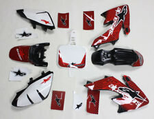 3M Decals Emblems Graphics Black Plastics CRF50 XR50 SSR DHZ Thumpstar Bike 12