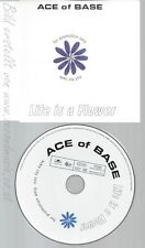 CD--ACE OF BASE--LIFE IS A FLOWER--PROMO