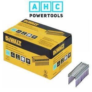 Dewalt Insulated Staples 25mm x 19mm For DCN701 Electricians Stapler DRS18100