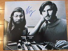 Steve Wozniak signed 11x14 photo coa + Proof! Apple Steve Jobs