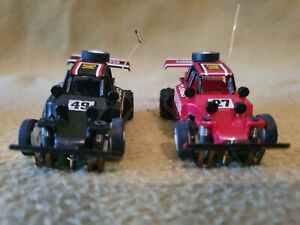 EXCELLENT  TYCO 1:64 Slot Cars x 2