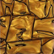 """Kirinite: oro líquido 3/8"""" 6"""" X 12"""" hojas de para madera, cuchillo haciendo en funcionamiento"""