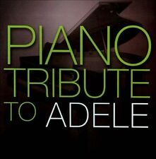 NEW Piano Tribute to Adele (Audio CD)