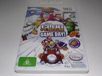 Club Penguin Game Day Nintendo Wii PAL*Complete* Wii U Compatible