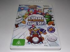 Club Penguin Game Day Nintendo Wii PAL Preloved *No Manual* Wii U Compatible