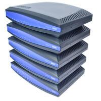 (Lot of 5) Adtran NetVanta 3130 ADSL Access Router 4-Port 1700610L2 Black w/PS