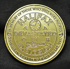Halifax Explosion Commemorative - Brass Medal