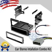 Car Stereo Radio Dash Installation Kit w/ Harness Antenna 2004-2009 Ford