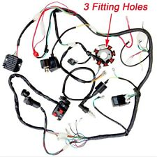 Complete Electric Wiring Harness Coils Switch Regulator Zongshen 250cc ATV Bike