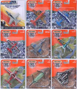 Matchbox Sky Busters Top Gun Maverick Ovp Modell Wählbar Skybusters Mattel Metal