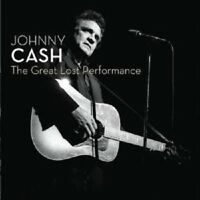 JOHNNY CASH 'THE GREAT LOST PERFORMANCE' CD NEW+