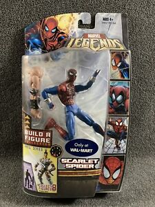Marvel Legends 6 Inch Ares Series Scarlet Spider Variant Walmart Exclusive
