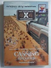 PAT CALLINAN'S 4 X 4 ADVENTURES Canning Stock Route DVD *New Sealed FREE POSTAGE