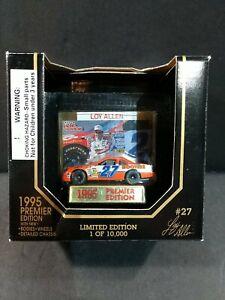 LOY ALLEN #27 Racing Champions 1995 PREMIER EDITION 1/64 Hooters