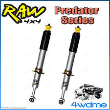 "Nissan Pathfinder R51 WD40 RAW Front Predator Gas Shock Absorbers 2"" 0-50mm Lift"